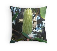 Citrine Candle Throw Pillow