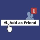 Add as Friend Tee by jean-louis bouzou