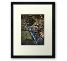 Tub + Chute Framed Print
