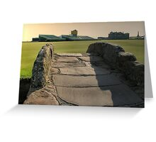 whits the score tiger Greeting Card