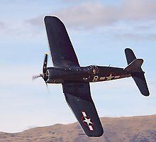 Fg-1d Corsair Top Veiw by Gildarossi