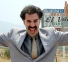 Borat - Very Nice! Sticker