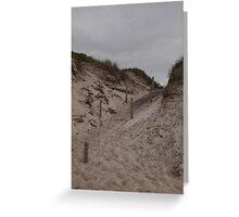 Dune Access Greeting Card