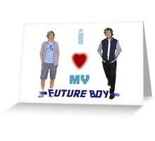 I <3 My Future Boy (Version 2) Greeting Card
