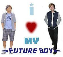 I <3 My Future Boy (Version 2) Photographic Print