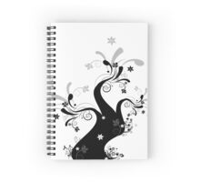 Beautiful art tree Spiral Notebook