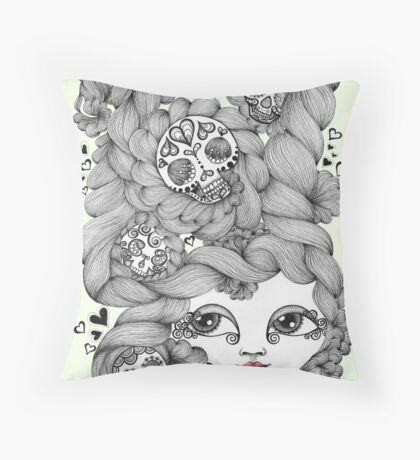 Lovers Swoon Throw Pillow