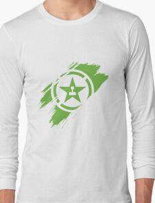 Achievement Hunter brush stroke Long Sleeve T-Shirt