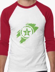 Achievement Hunter brush stroke Men's Baseball ¾ T-Shirt