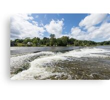 Waterfalls on the Mississippi Canvas Print