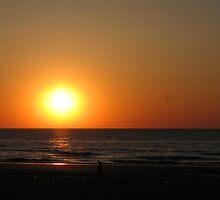 Sunset III by Hans Bax