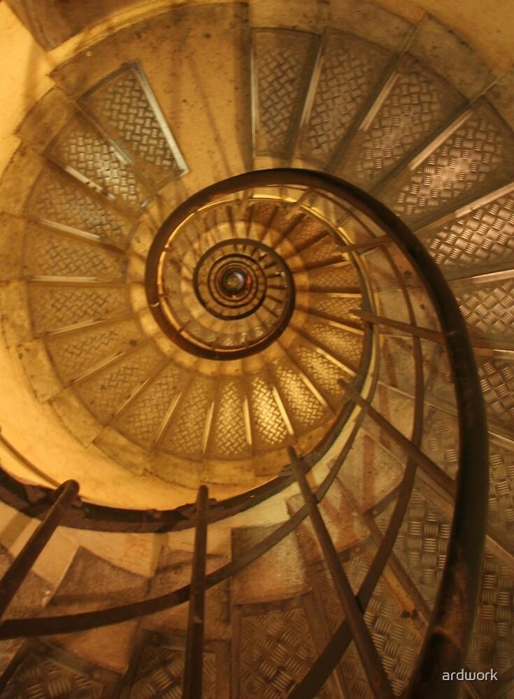 Les Escaliers de l'Arc by ardwork