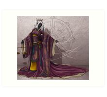 Judge of Karma Art Print