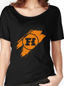 Funhaus brush stroke Women's Relaxed Fit T-Shirt
