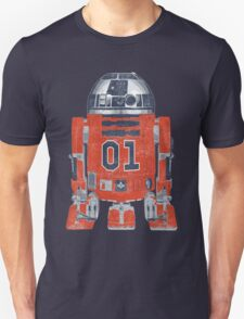 R2 E Lee - General Lee & The Rebel Alliance - Rebel Droid - Live Free - 01 T-Shirt