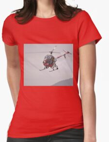 Otto The Helicopter,Avalon Airshow,Australia 2015 Womens Fitted T-Shirt
