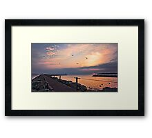Irondequoit Bay channel Framed Print