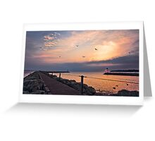 Irondequoit Bay channel Greeting Card