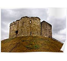Cliffords Tower - York Poster
