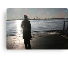 Coloured sky. Canvas Print