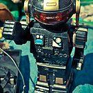 Vintage Japanese Robot by Angel Benavides