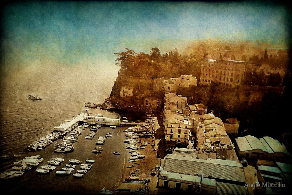 Sorrento Italy by Angie Muccillo