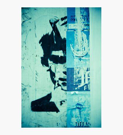 Street art face Photographic Print