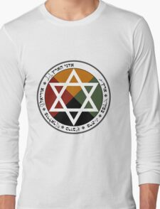 Earth Pentacle Long Sleeve T-Shirt