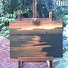 """Golden Beach"" by Lilykoli"