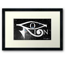 Orion & Eye of Horus Framed Print