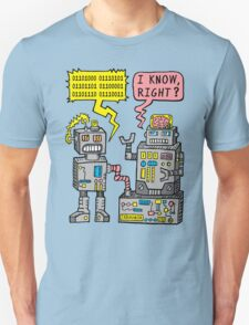 Robot Talk Unisex T-Shirt