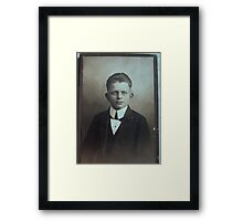 My Uncle born 1906 Framed Print