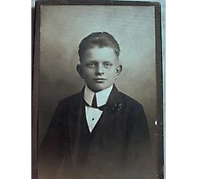 My Uncle born 1906 Photographic Print