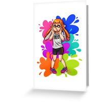 Splatoon!! Greeting Card