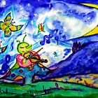 Little Miss Cricket by Helena Bebirian