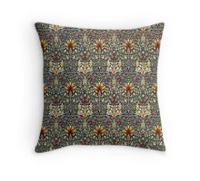 Vintage Flora Throw Pillow