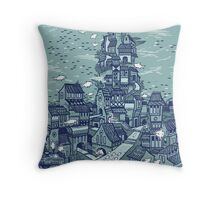 Full fathom five Throw Pillow