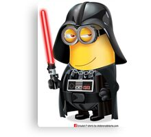 Minion Darth Vader Canvas Print