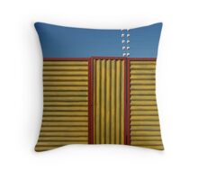 Electrified Throw Pillow