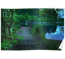 Loch Ard Jetty and Boathouse Poster