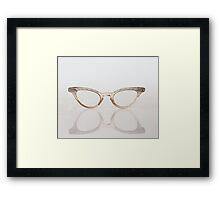 Glasses Framed Print