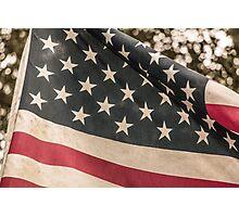 Pledge of the Flag Photographic Print