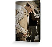 Helmville Rodeo Montana 2009 -  #135 Greeting Card