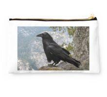 The Raven at Glacier Point  Studio Pouch