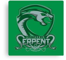 Slytherin Serpents Canvas Print