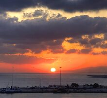 Cretian Sunrise by Tom Gomez