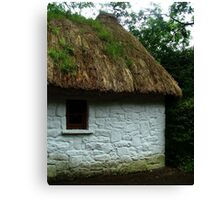 Thatched Cottage - Bunratty Castle Grounds, Limerick, Ireland Canvas Print
