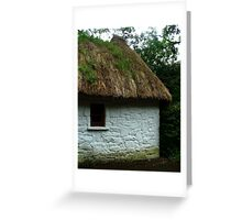 Thatched Cottage - Bunratty Castle Grounds, Limerick, Ireland Greeting Card