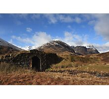Three Sisters in Glencoe. Photographic Print