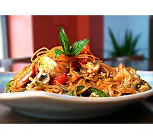 Tantalizing Thai Food Photographic Print